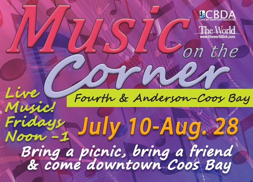 Music on the Corner - Coos Bay