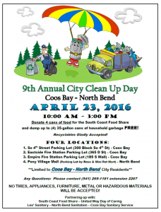 City Clean Up Day